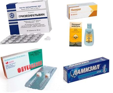 Комплексы препаратов от грибка ногтей