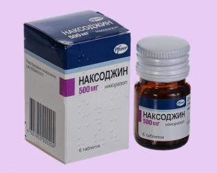 При каких заболеваниях действует Наксоджин, как правильно принимать препарат?