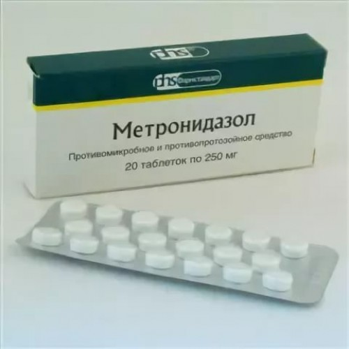 Метронидазол иалкоголь