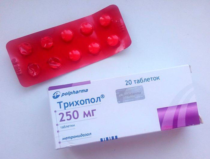 Свечи и таблетки Трихопол: от чего лечит, применение, совместимость, цена