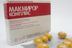 свечи и таблетки Макмирор - инструкция по применению, цена, побочные действия, аналоги, отзывы