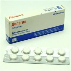 мазь Делагил (Хлорохин) - инструкция по применению, побочные действия, цена, аналоги, отзывы