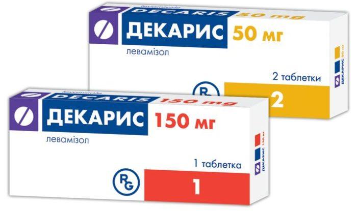Антигельминтный препарат Декарис (Левамизол) - применение для взрослых и детей, цена, аналоги, отзывы