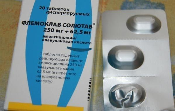 флемоклав солютаб 500